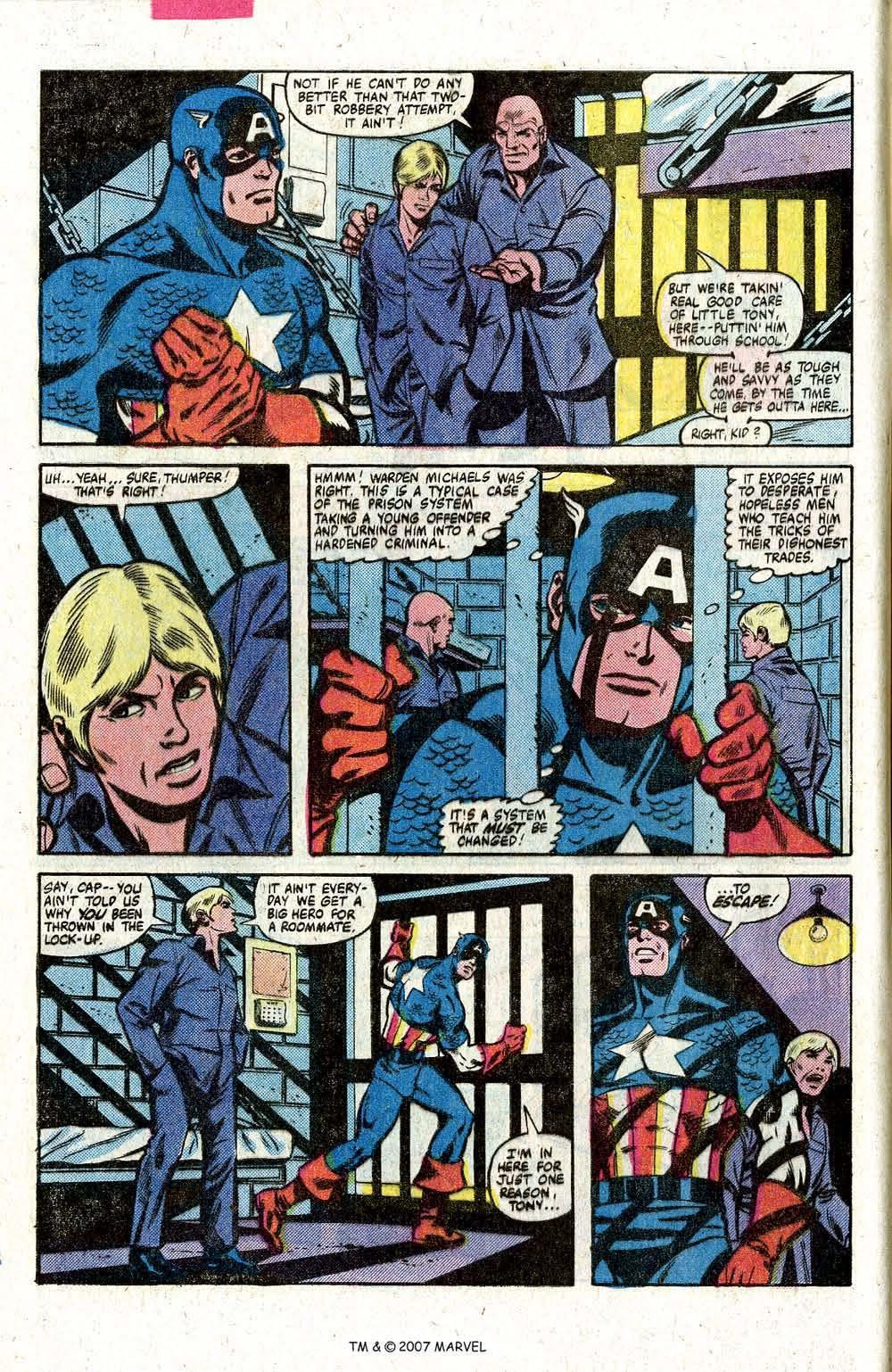 Captain America (1968) Issue #260 #175 - English 8