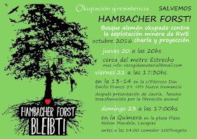 Salvemos Hambacher Forst!