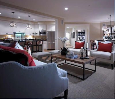 Athertyn at Haverford Reserve Condos Living Room - Kitchen - Entry