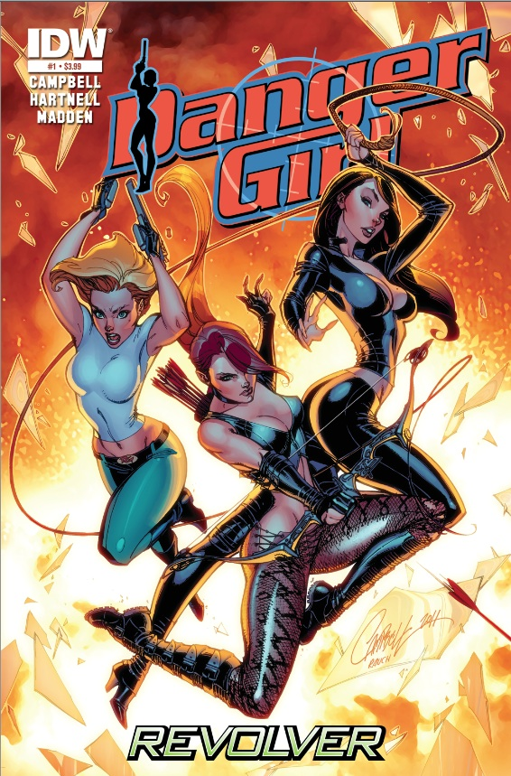 Danger Girl: Revolver is a return to a single story-arc adventure with ...