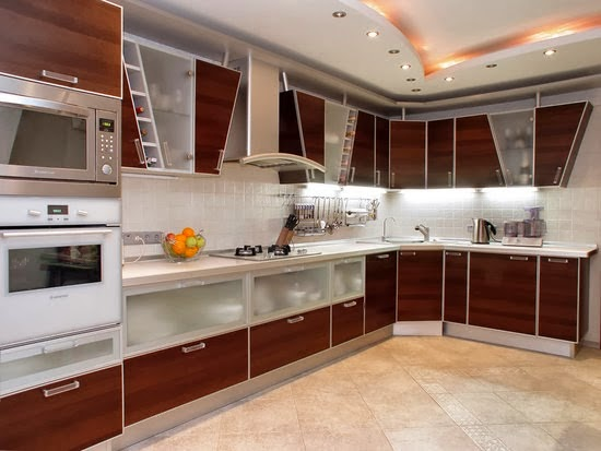 Elegant False Ceiling Design Idea For Kitchen(PAKCFC 0037)