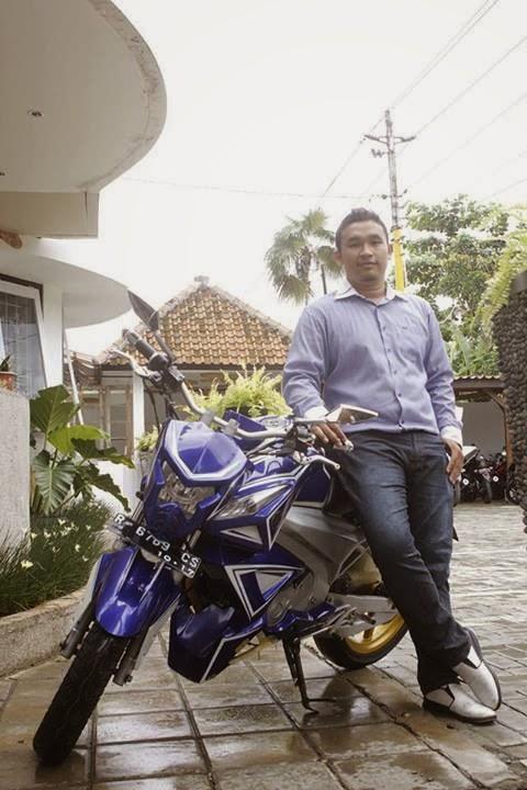 Modifikasi Yamaha Vixion Streetfighter Limbah Moge