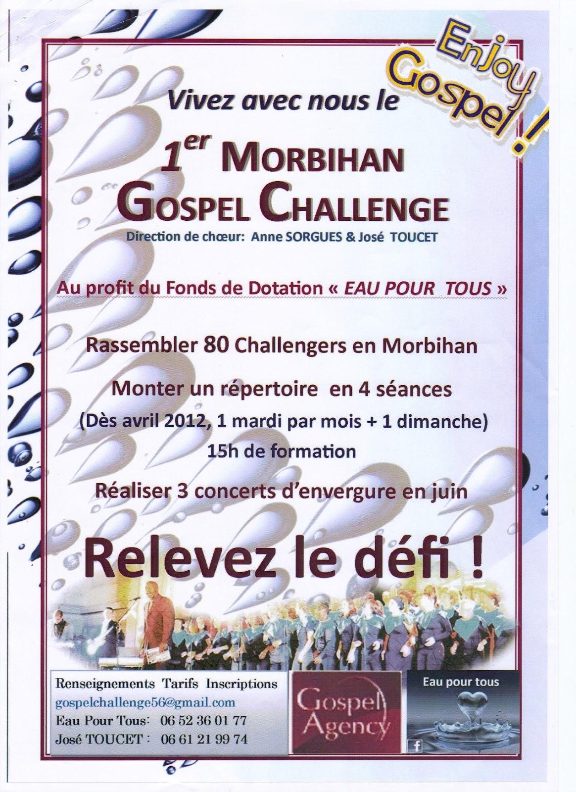 Bon Vendredi 1ER+Gospel+Challenge+Morbihan