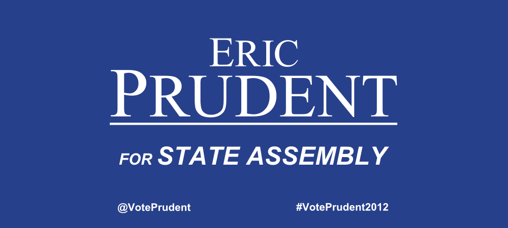 Eric Prudent for State Assembly