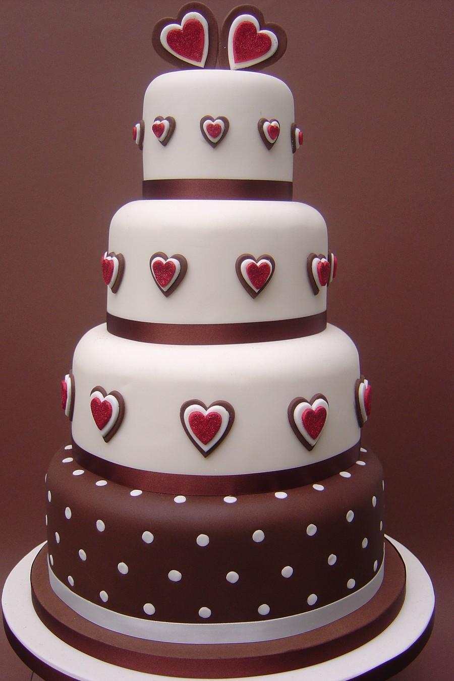 Chocolate Love Cake Images : CAKE SHOP: Wedding Cake