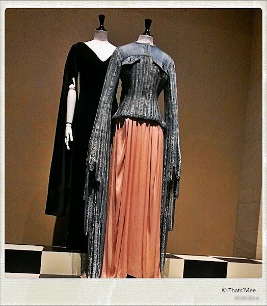 Robe blouson jean place du tertre Jean-Paul Gaultier, Hotel de Ville Paris Haute Couture 2013