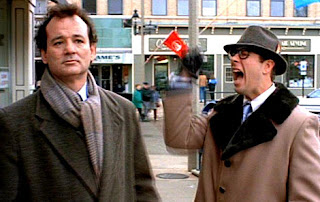 Bill Murray and Stephen Tobolowsky in Groundhog Day by Columbia Pictures