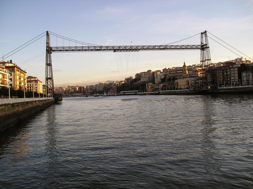 Puente de Vizcaya, Gecho