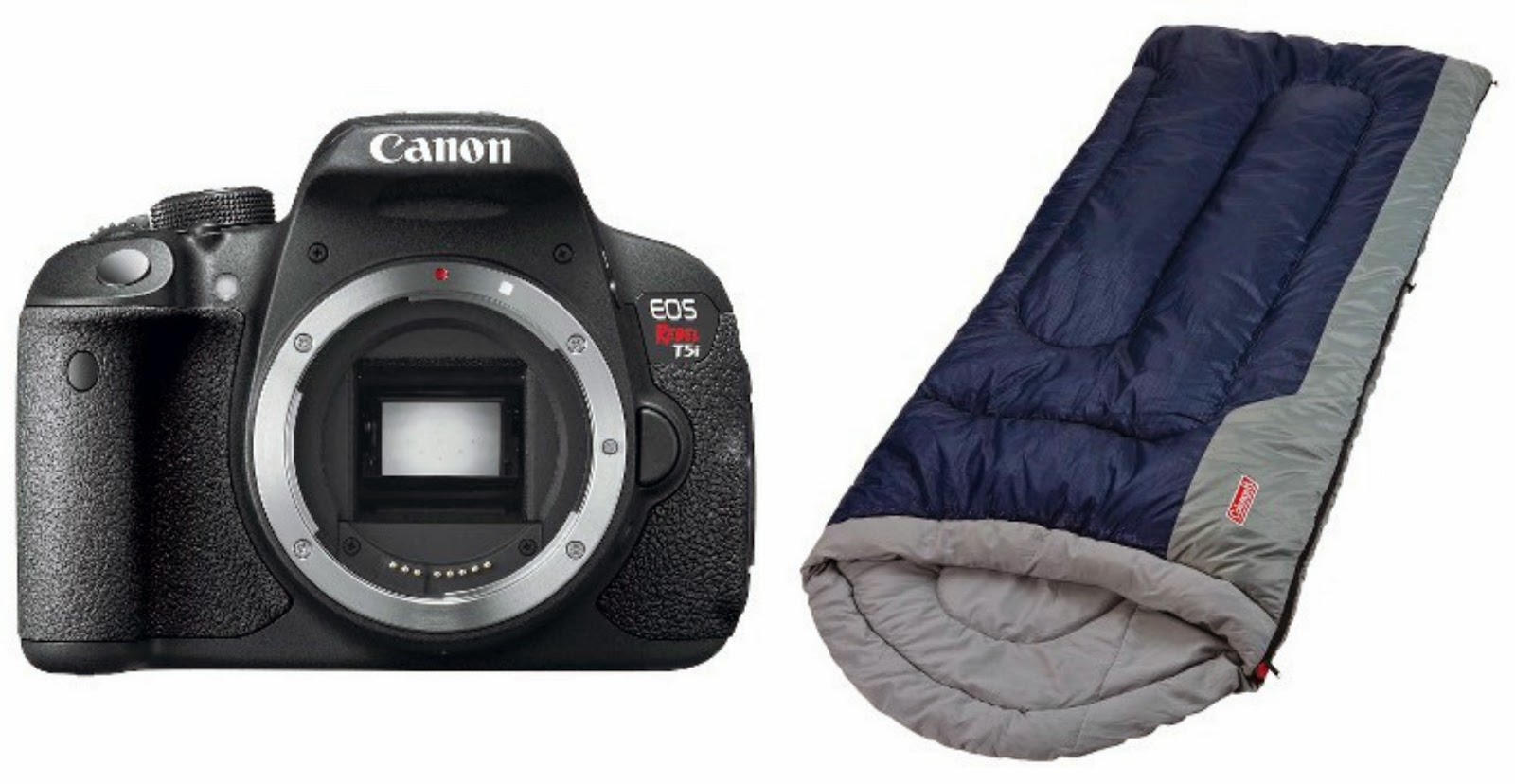 canon camera sleeping bag