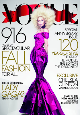 Lady Gaga on the Cover of Vogue's September Issue 2012