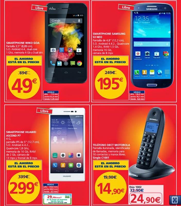 ofertas de smartphone alcampo black friday 2014