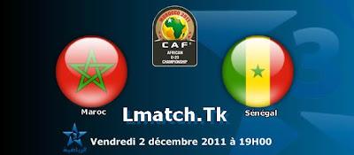 Regardez Maroc Olympique Vs Senegal Olympique