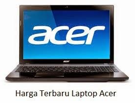 Daftar Harga Laptop Acer Terbaru Januari 2017