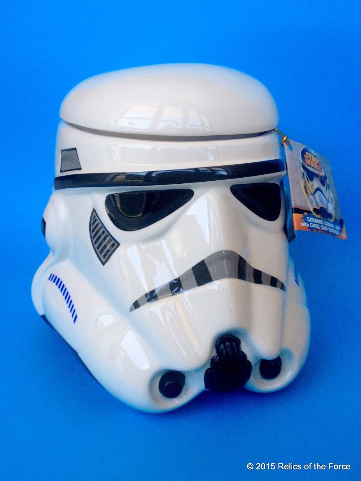 Relics of the force park avenue stormtrooper cookie jar and stormtrooper cookie - Stormtrooper cookie jar ...