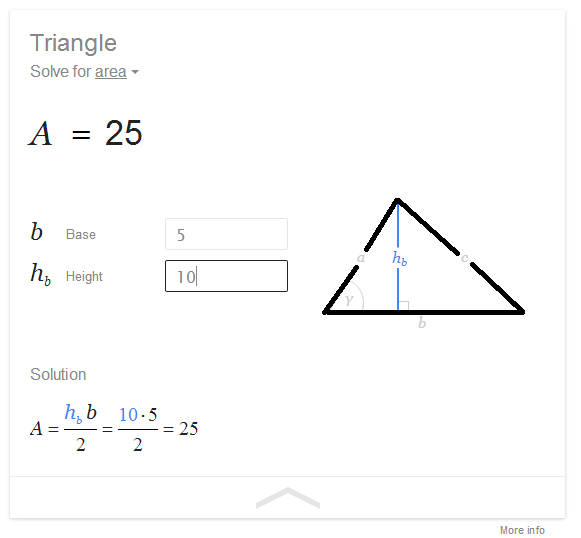how to find out volume of a triangle