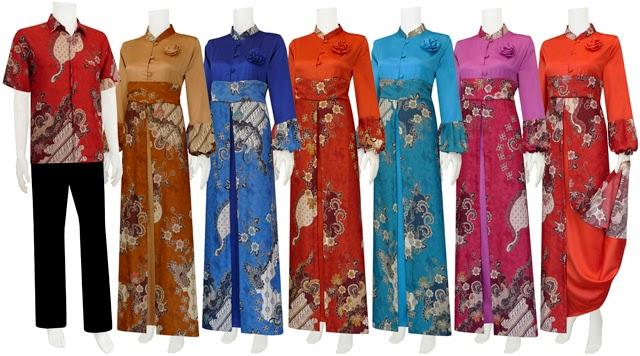 Gambar Baju Muslim Batik Tulis Busana Lebaran Terbaru Trend 2014