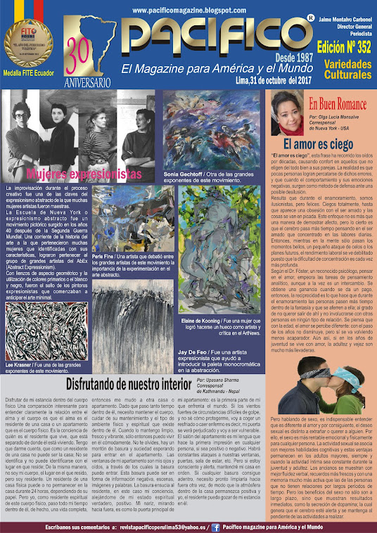 Revista Pacífico Nº 352 Variedades Culturales