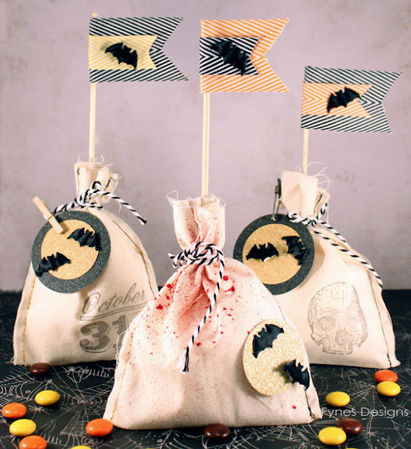 Halloween Treat Bags by Fynes Designs