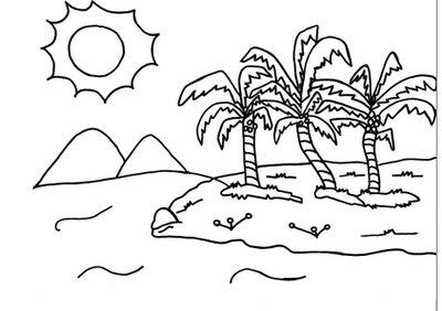 a desenhar Animais da floresta reunidos para copiar colorir