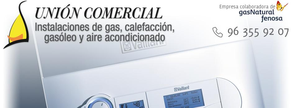 Alta Gas Natural Valencia. Instalación de calefacción y calderas