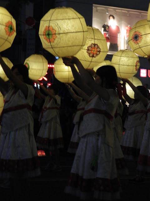 Pretty round lanterns