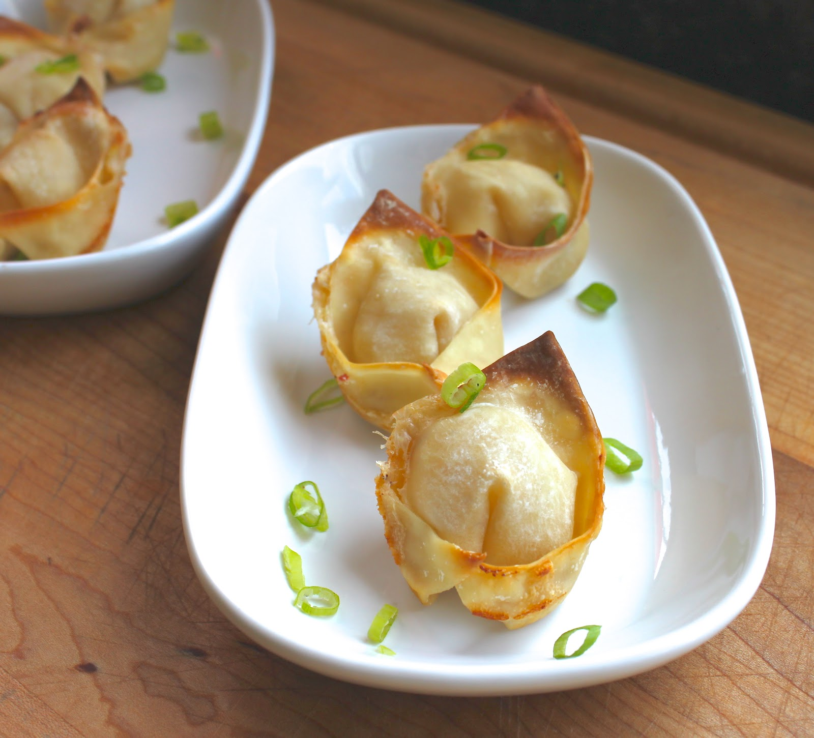 From Which Things Grow: Chew on This | Baked Crab Rangoon