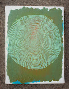 Malarstwo z ojcem. (hipnotyzujące spirale) c.d.