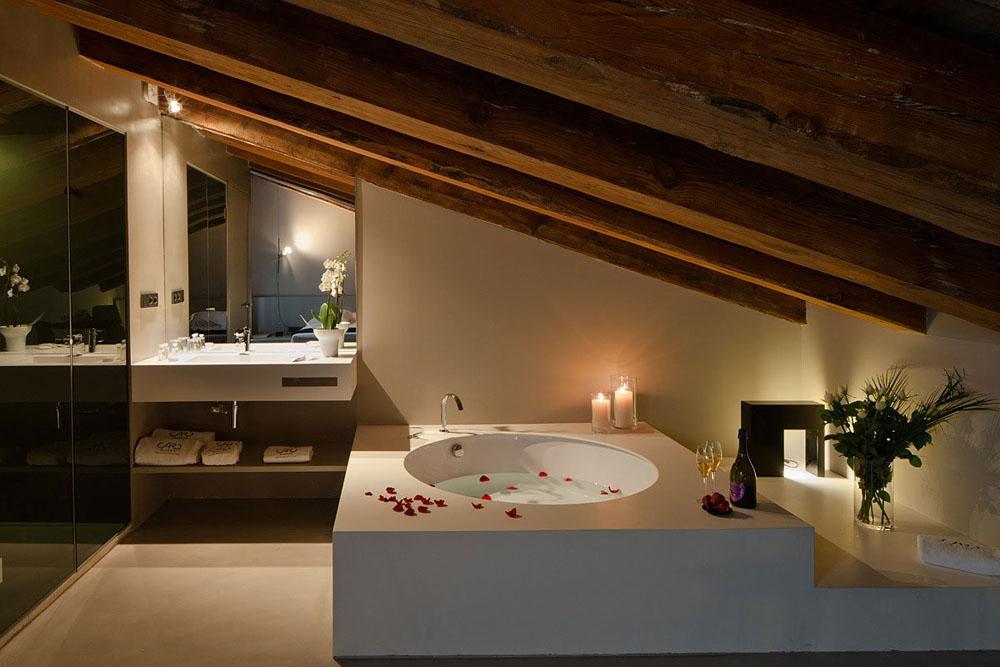 Modern Spanish Style Bathroom