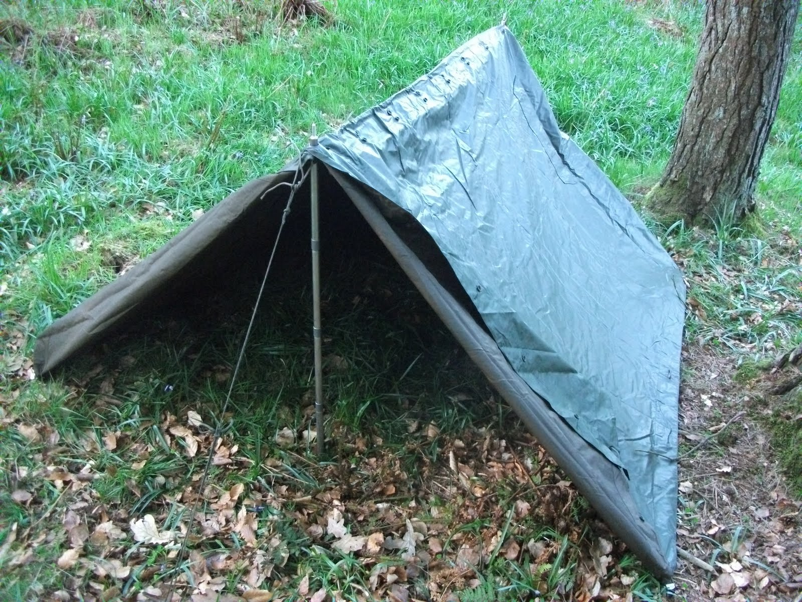 Wilderness Living Belgian Army Pup Tent