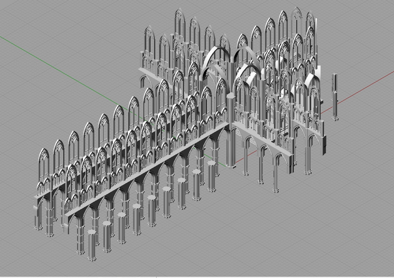 speaking to architecture  diagram and 3d model update