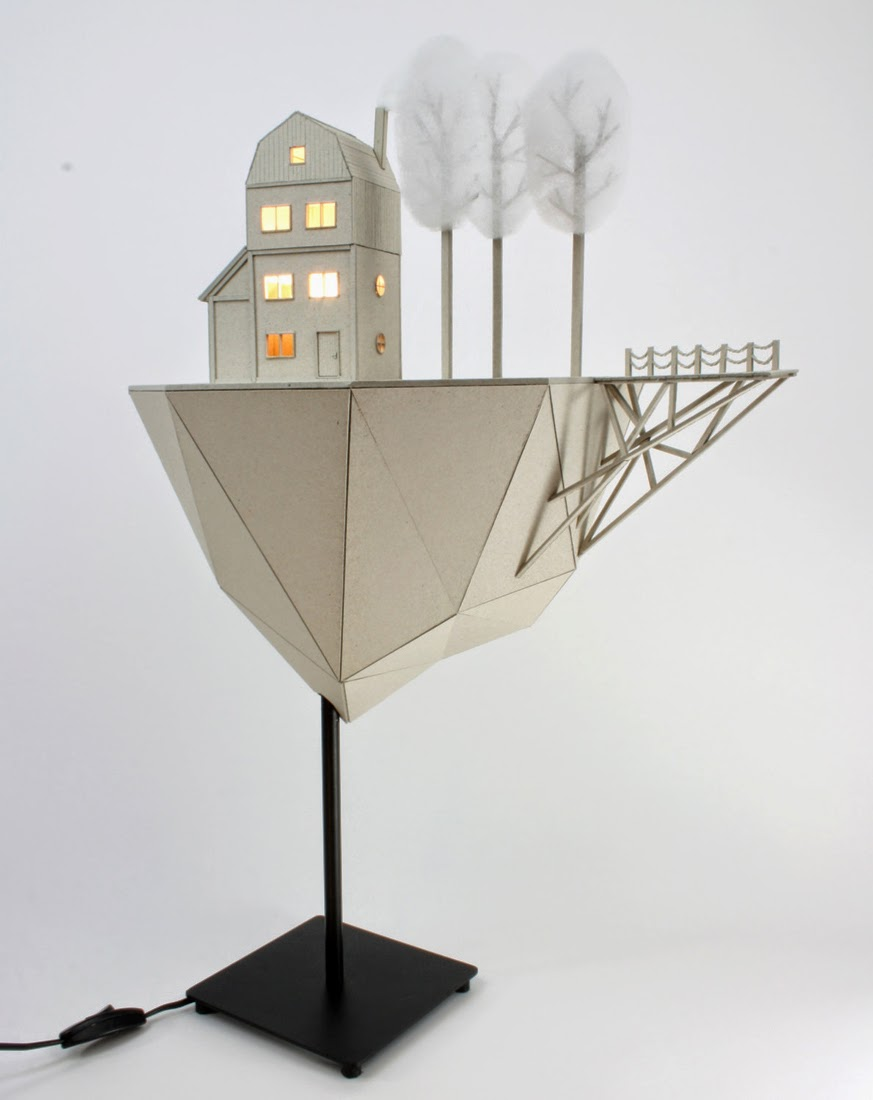 02-Floating-Island-2-Vera-van-Wolferen-Architectural-Cardboard-Night-Lights-www-designstack-co
