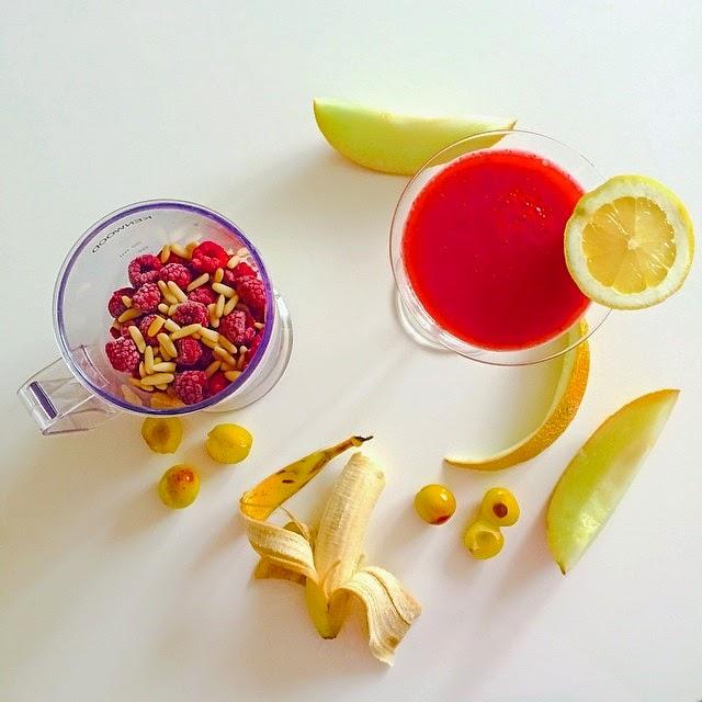 red smoothie recipe