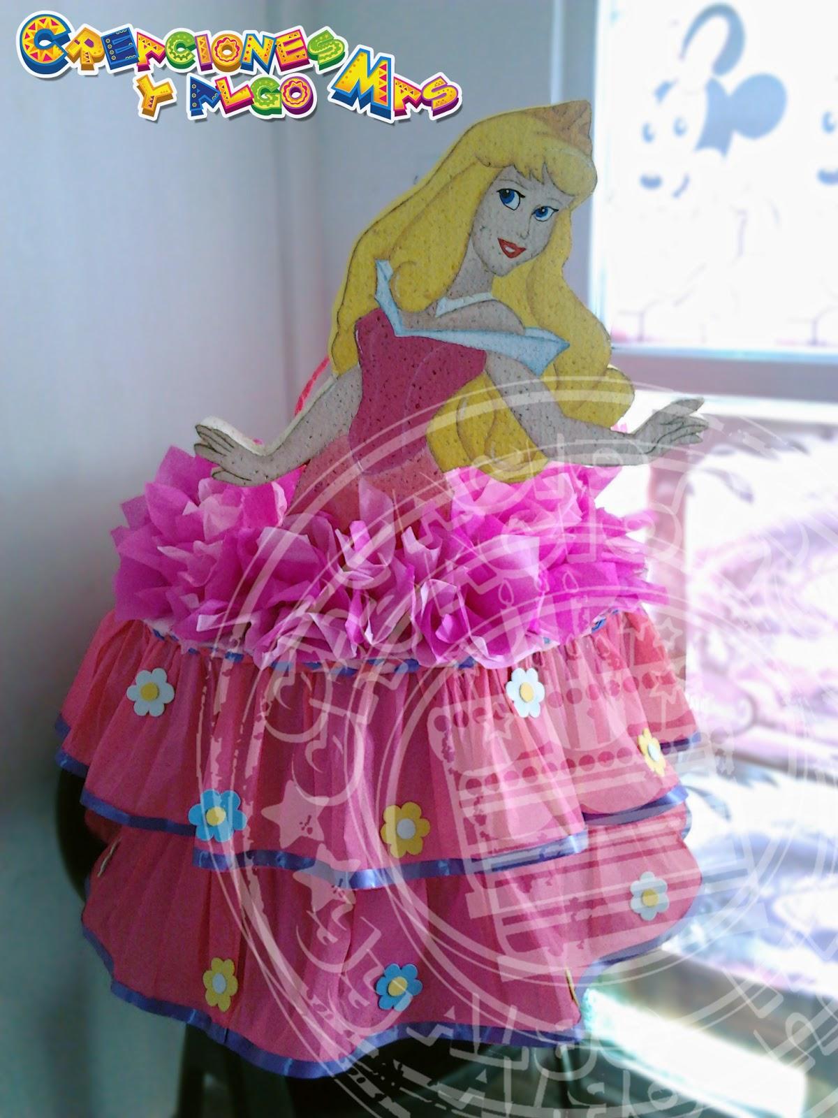 Fiesta motivo princesas disney disney princess party - Regalos para pinatas ...