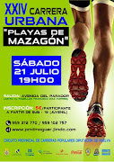 "XXIV CARRERA URBANA ""PLAYAS DE MAZAGÓN"" 2018"
