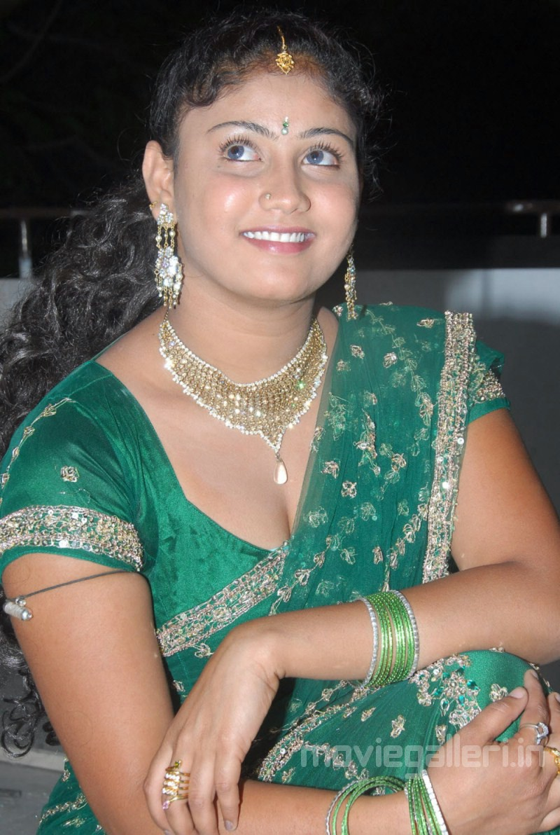 Actress Amrutha Valli Hot Latest Stills In Half Saree New Movie