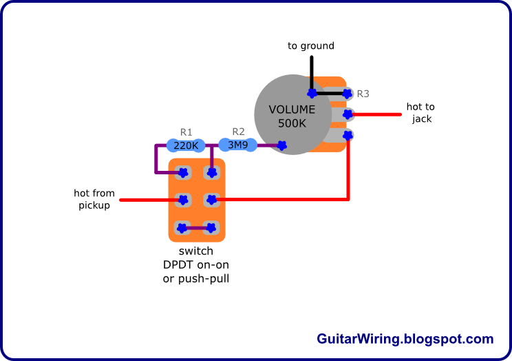 push pull wiring diagram images push pull pot basics push pull wiring diagram besides 10k potentiometer bourn furthermore