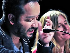 JUAN DICENT (IZQUIERDA) Y LALO BARRUBIA (DERECHA)