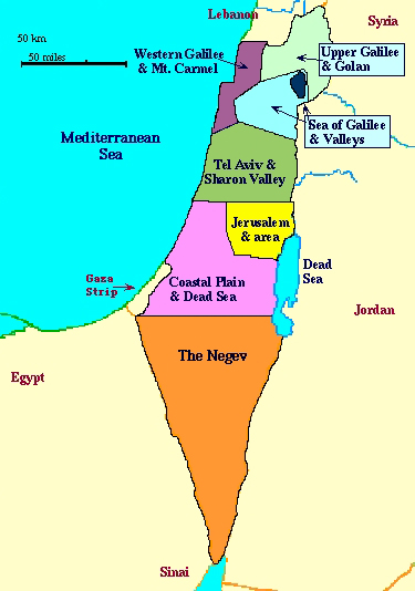 Yarden From Israel Leaves Me Wanting More From This Emerging Region - Map of israel today