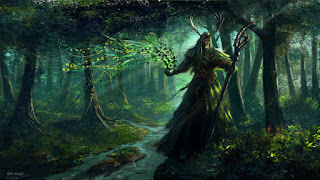 druid herbal magic forest litha midsummer summer solstice