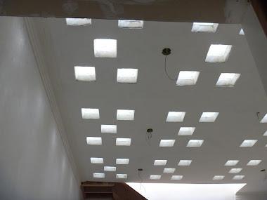 laje concreto claraboia domos ecológica  bloco de vidro claridade solar moderno sustentável preço