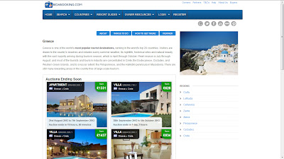 Holiday Properties Available in Greece