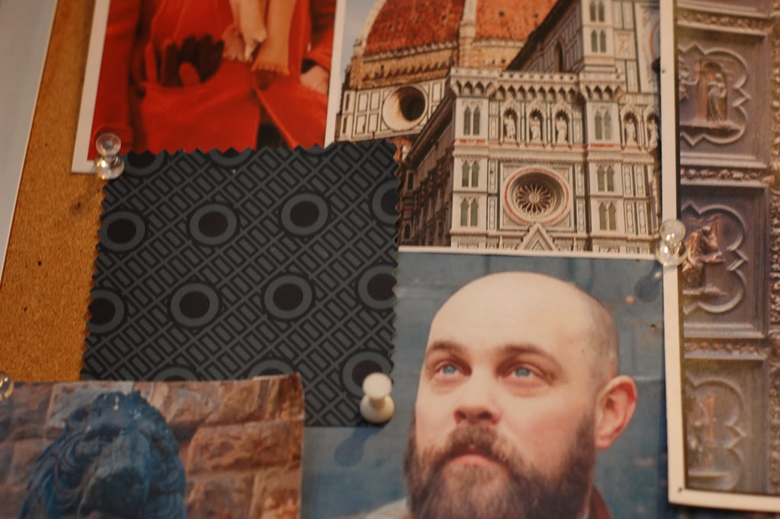 Inspiration for our Duomo scarves and ties