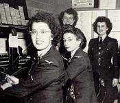 NO. 9 SFTS SWITCHBOARD OPERATORS 1943