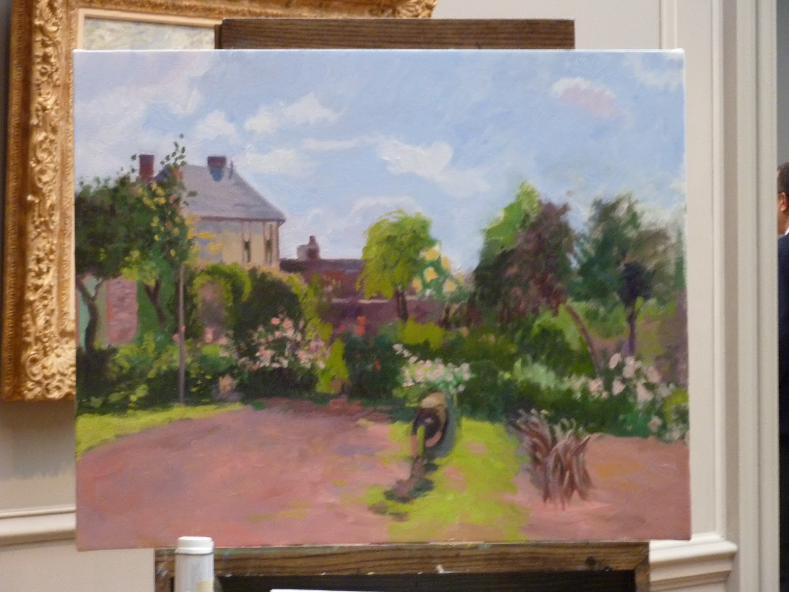 Copying At The National Gallery Day 3 Pissarro 39 S The Artist 39 S Garden At Eragny
