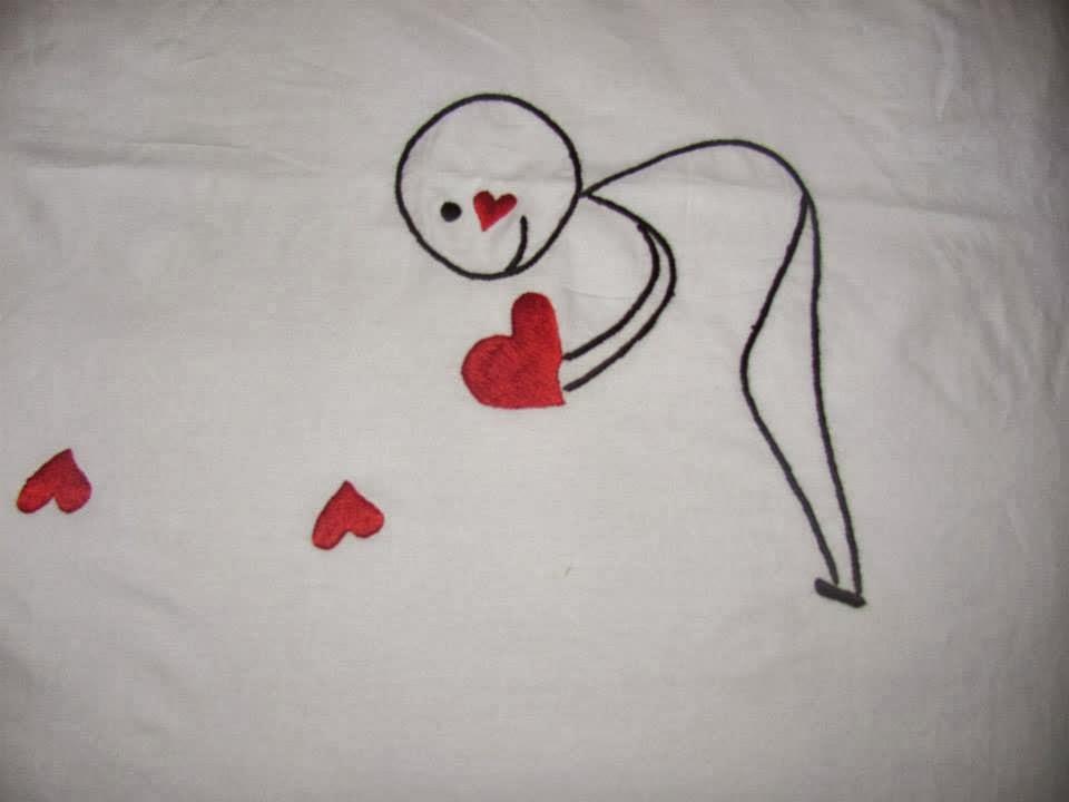 capa de edredão bordada à mão, bordados manuais