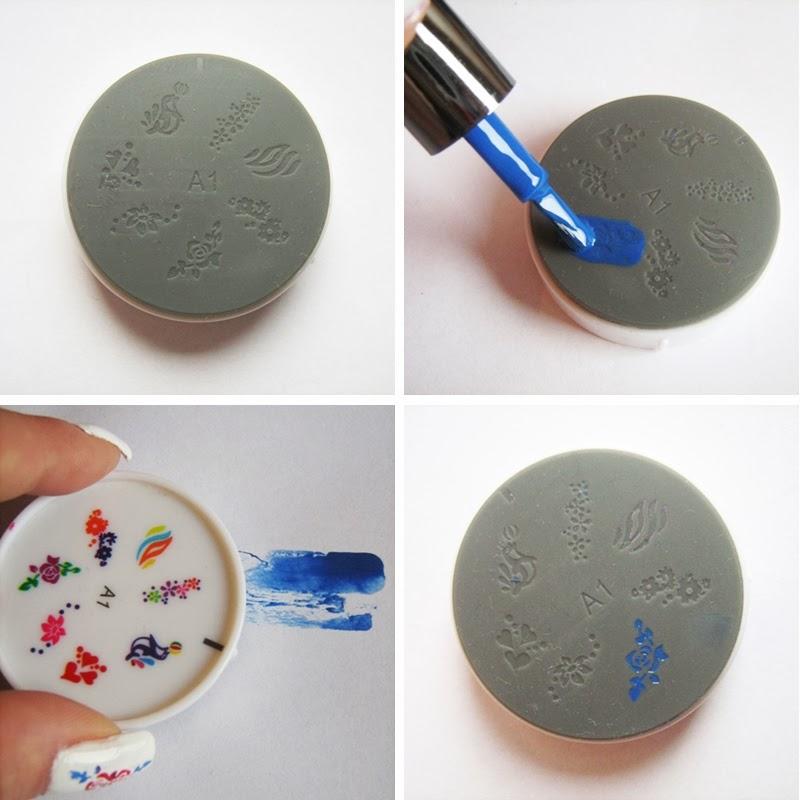 KKCenterHk Soft Stamping Plates tutorial