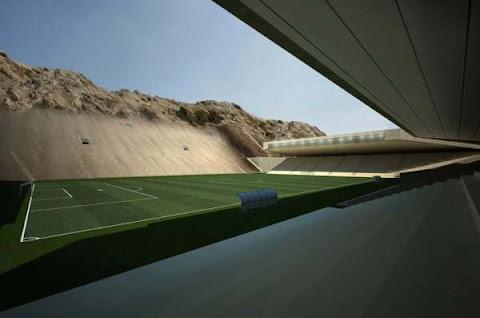 Rocker Stadium Arsitektur
