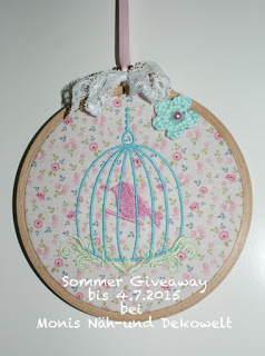 Sommer Giveaway bei Moni