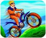 Naruto lái xe đạp địa hình, game dua xe