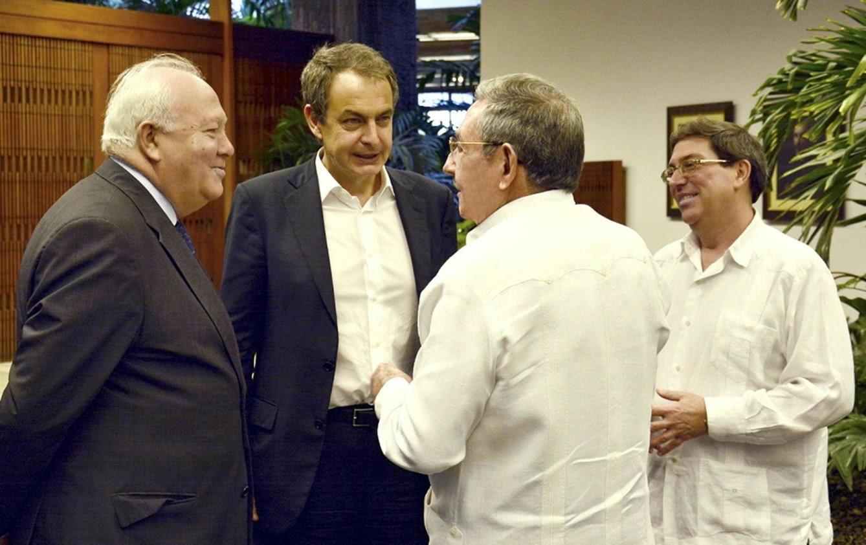 reunión zapatero Raul castro cuba